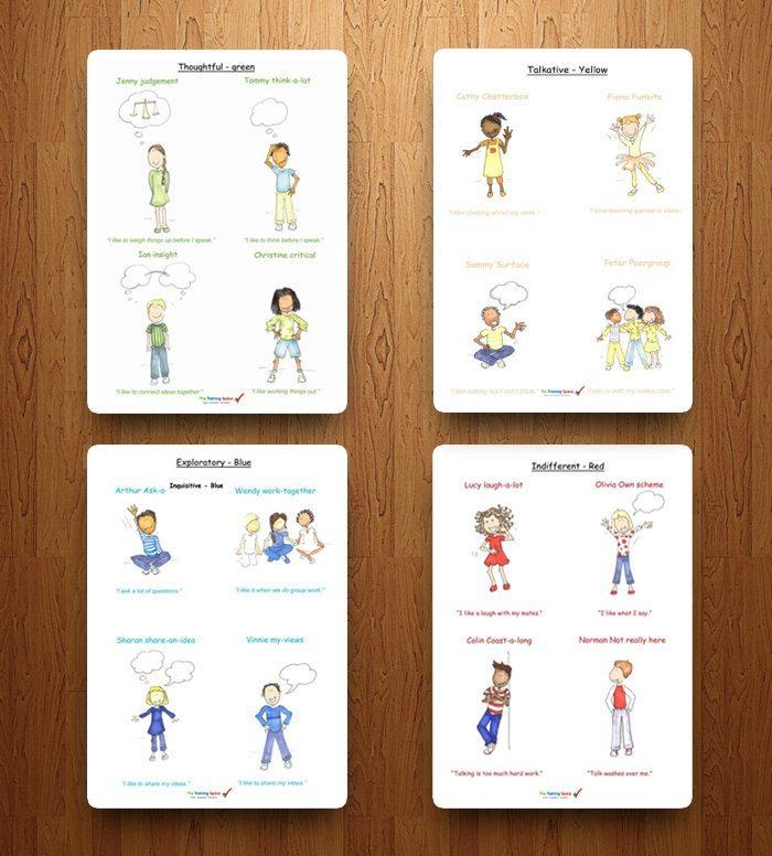 Pupil Talk Types