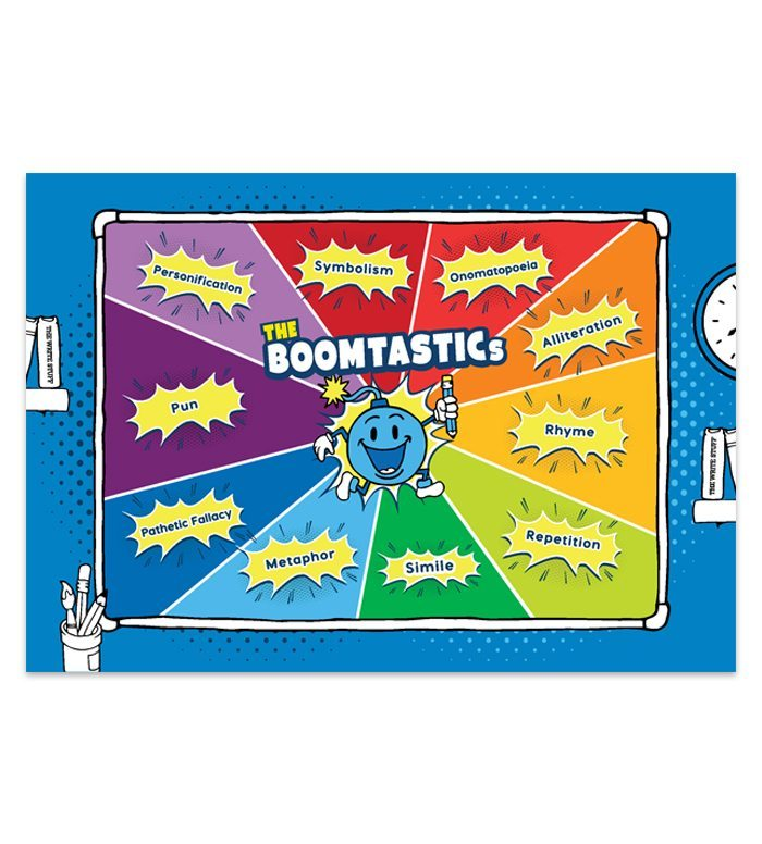 The BOOMTASTIC Poster - The Training Space