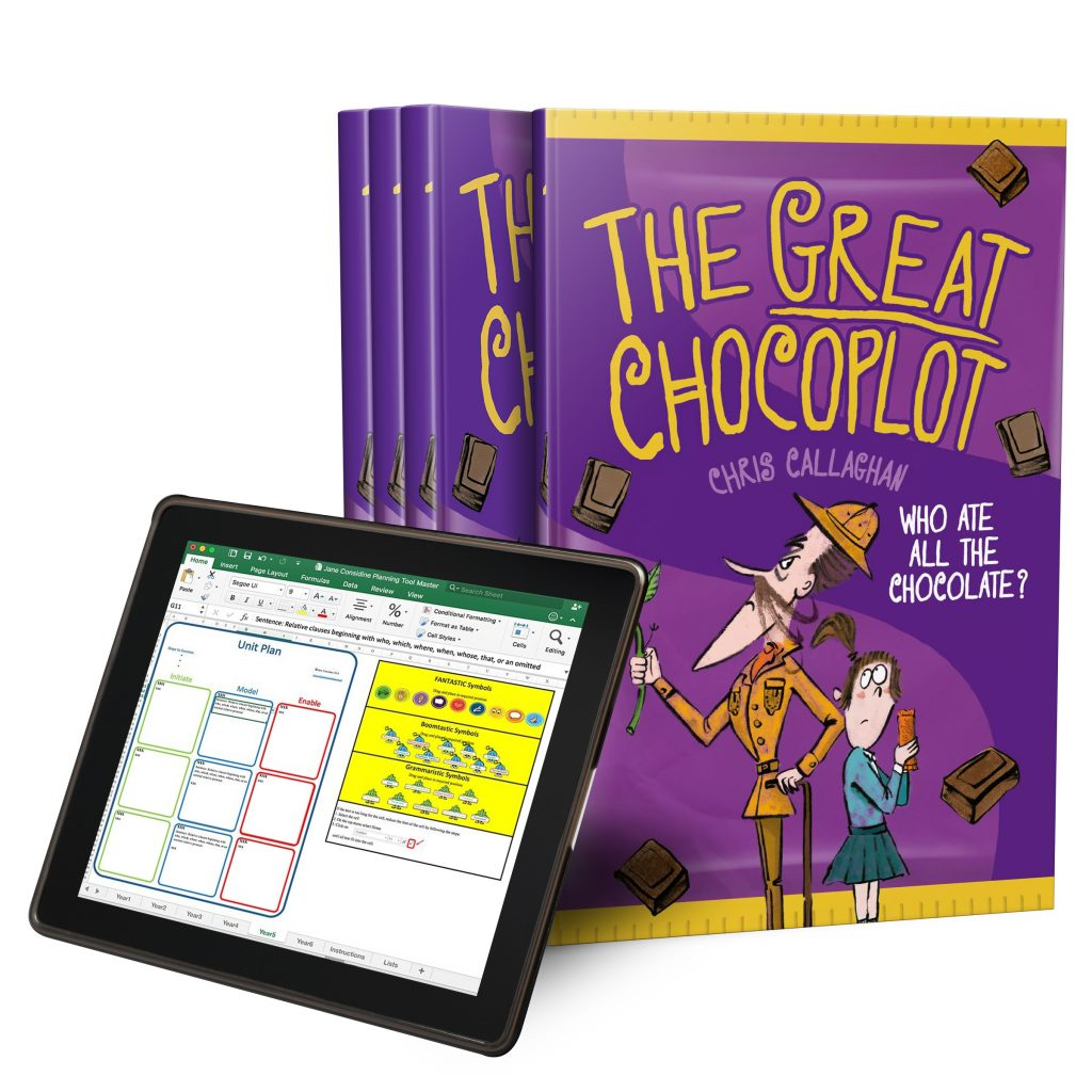 Social media – The great Chocoplot