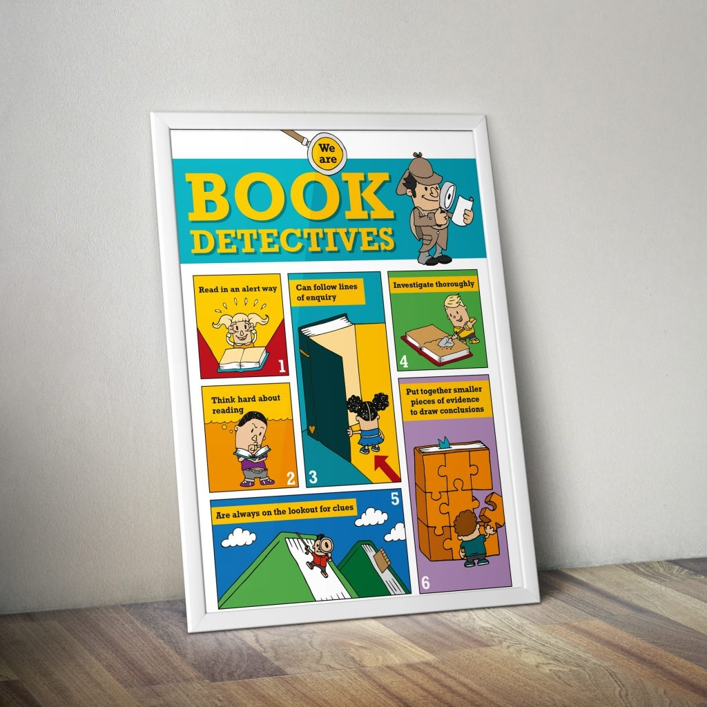 Book Talk Detective Poster – Download