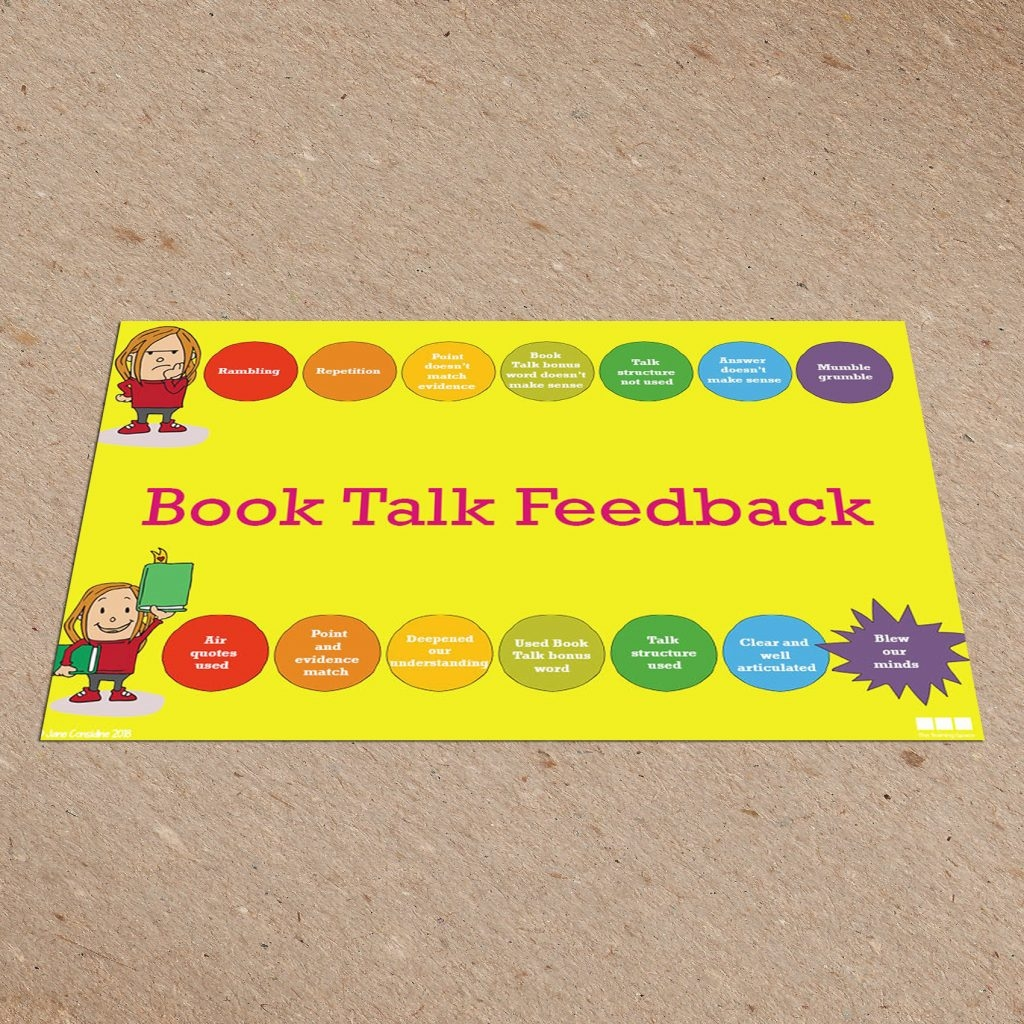 Book Talk Feedback Card