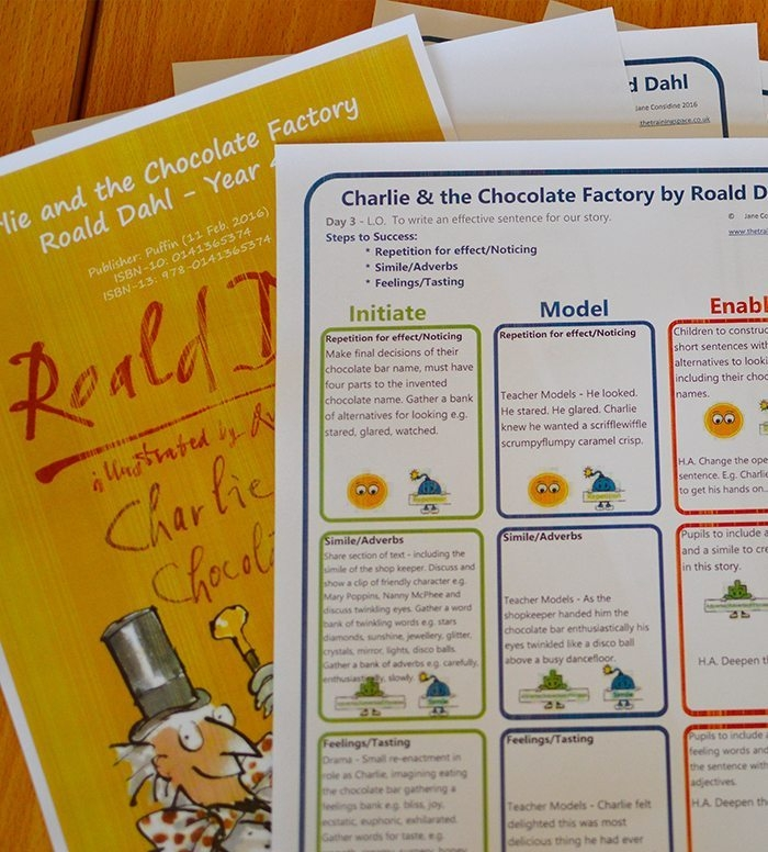 Charlie & the Chocolate Factory – Unit Plan – Year 4