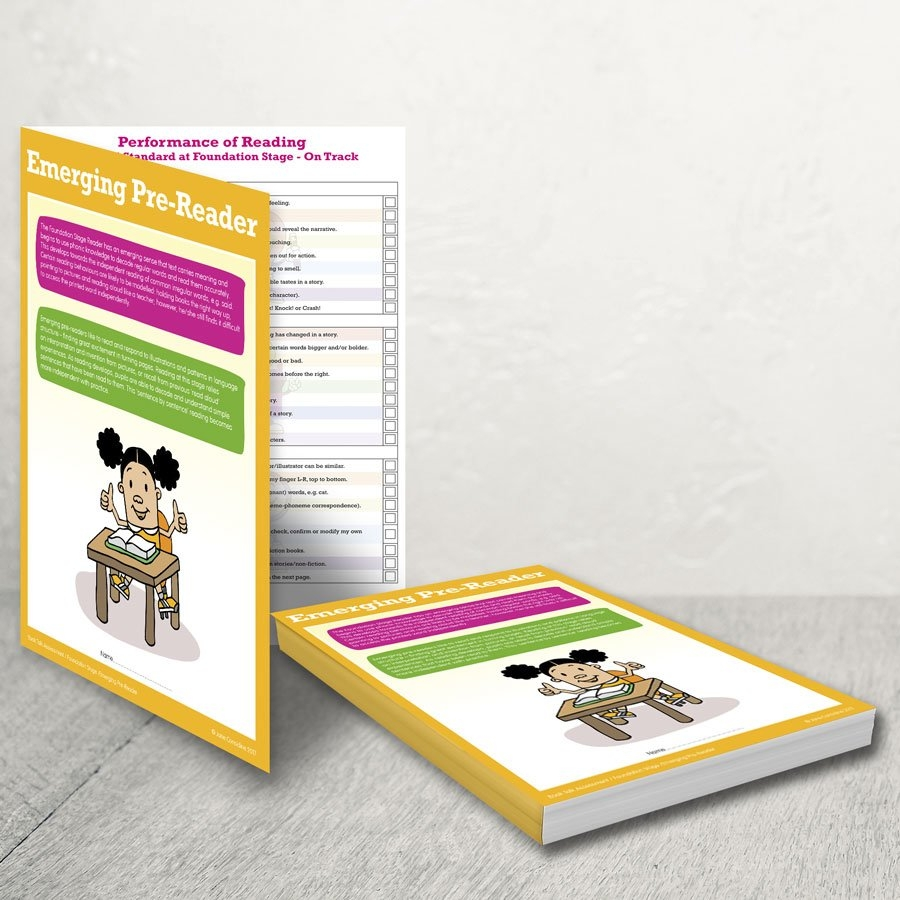 Reading Assessment Records – Class Pack