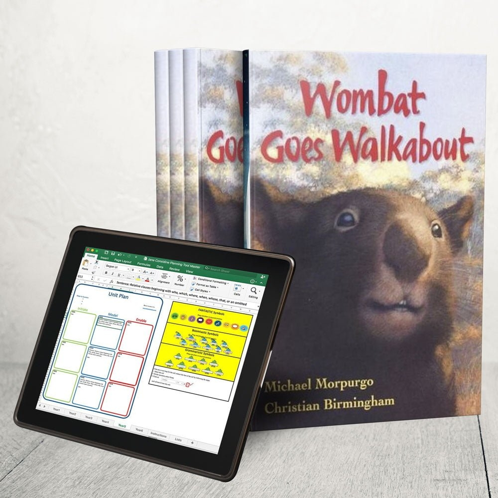 Wombats Go Walkabout- Unit Plan – Year 1