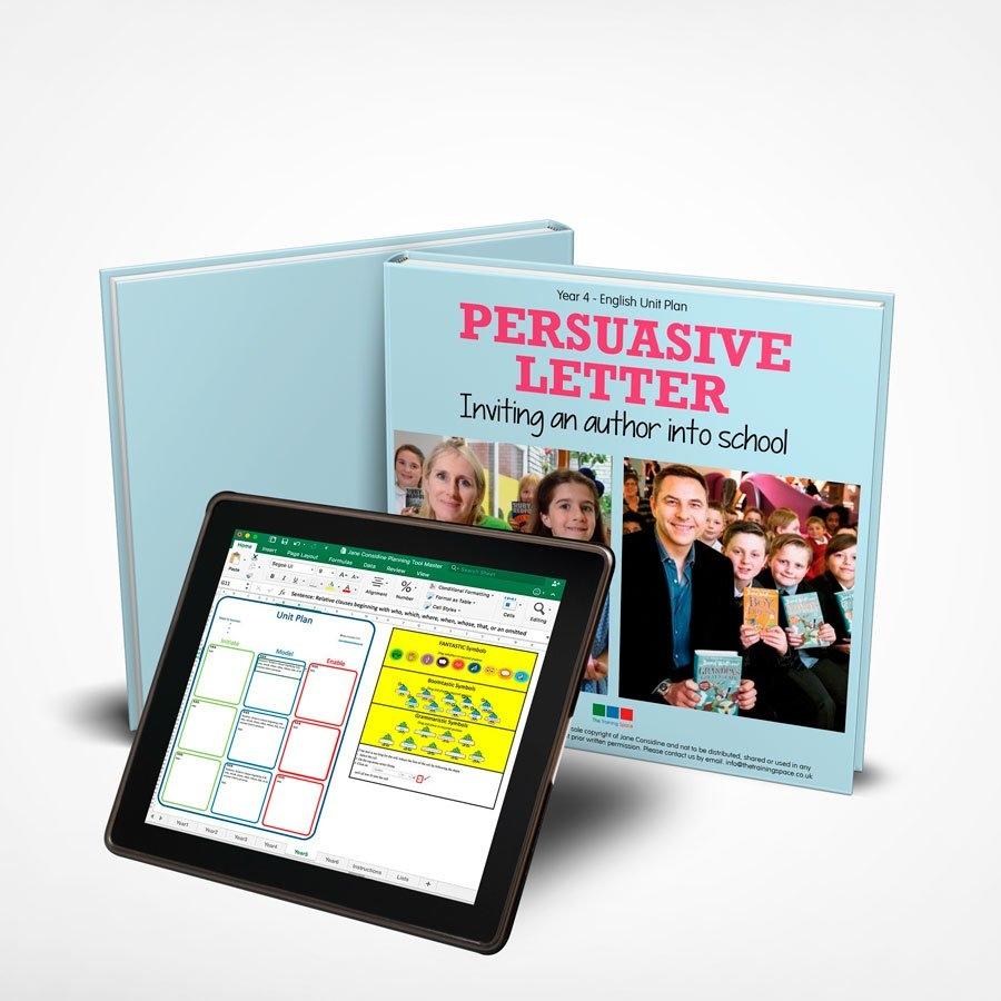 Persuasive Letter – Unit Plan – Year 4